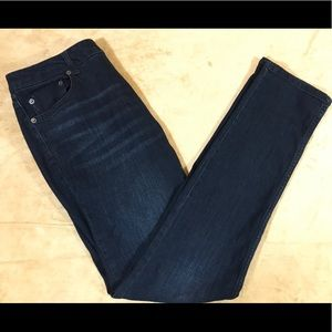 Kenneth Cole Reaction Skinny Jeans Dark Wash